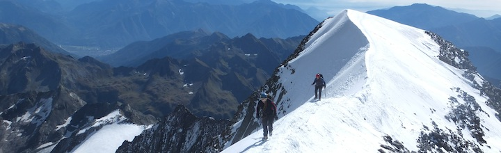 Swiss alpinism: Weissmies traverse from Saas Almagelle to Hohsaas
