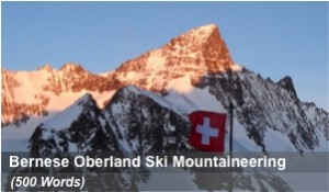 Ski Mountaineering in the Bernese Oberland
