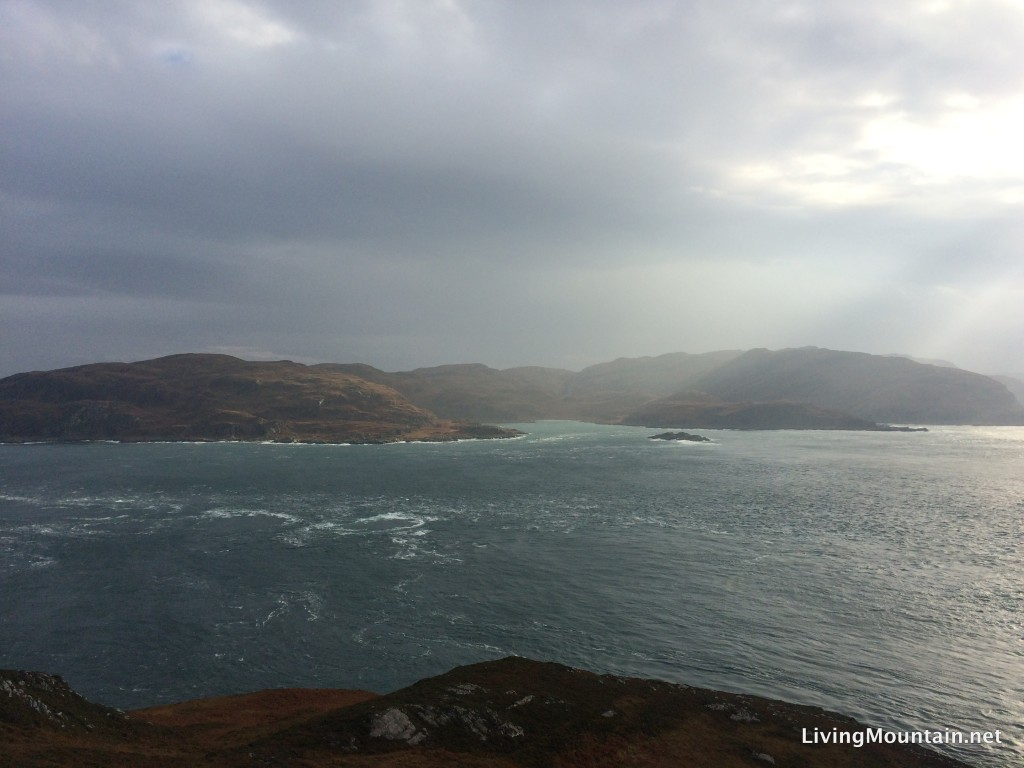 The north end of Jura and the Gulf of Corryvreckan from Scarba
